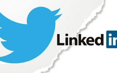 LinkedIn Weds Twitter