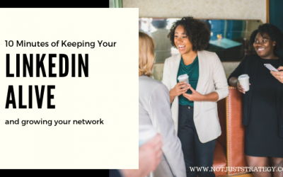 10 Minutes to keeping your LinkedIn Live